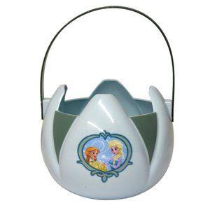 4 / $50 Disney Frozen Bucket / Pail for Halloween & Easter TYN1